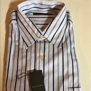 NEW Dress Shirt-Zegna